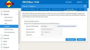 Fritz!Box Dynamic DNS